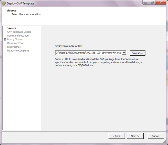 Export Import Virtual Machine pada VMWare vSphere