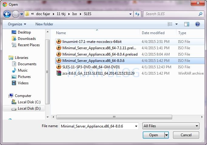 Upload & Download ISO ke Proxmox