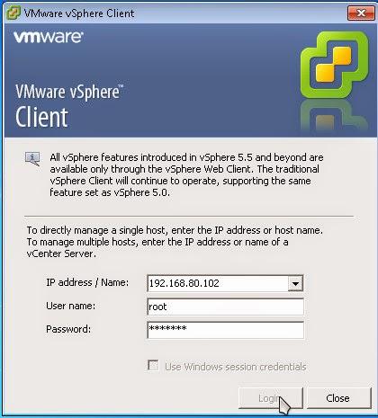 Instalasi VMWare vSphere 6.0